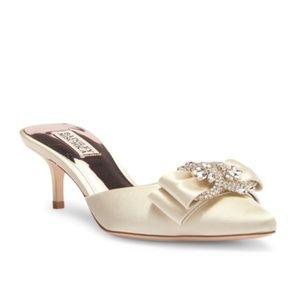 Badgley Mischka Hagen Pointy Toe Mule NEW Size 7.5